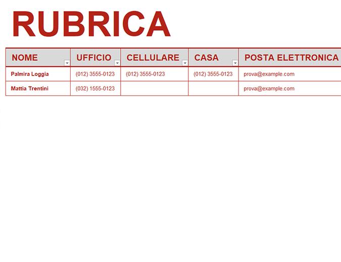 SCARICARE RUBRICA TELEFONICA GRATIS PER PC