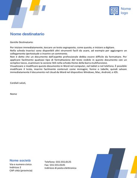 Carta intestata (design Barre)