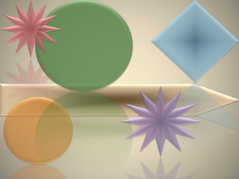 Modello struttura (tema forme geometriche)