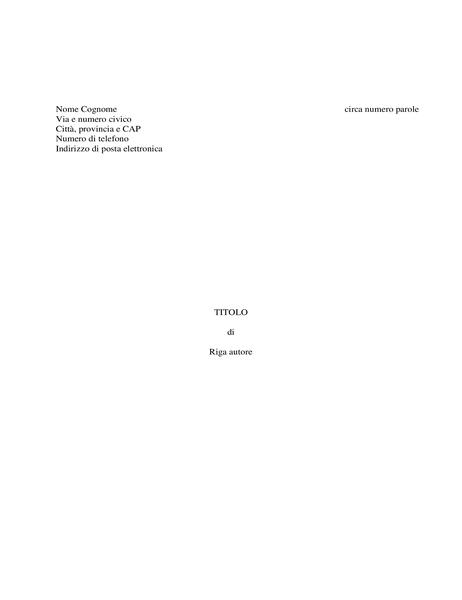 Manoscritto di un libro
