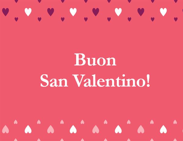 Biglietto di S. Valentino (quattro facciate)