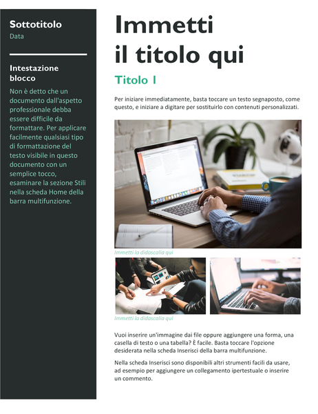 Newsletter (grassetto)