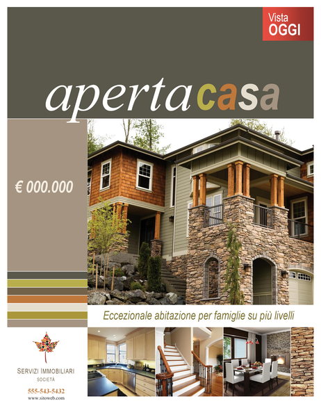 Poster di beni immobili (verticale)
