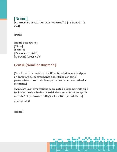 Carta intestata tecnologia minimalista
