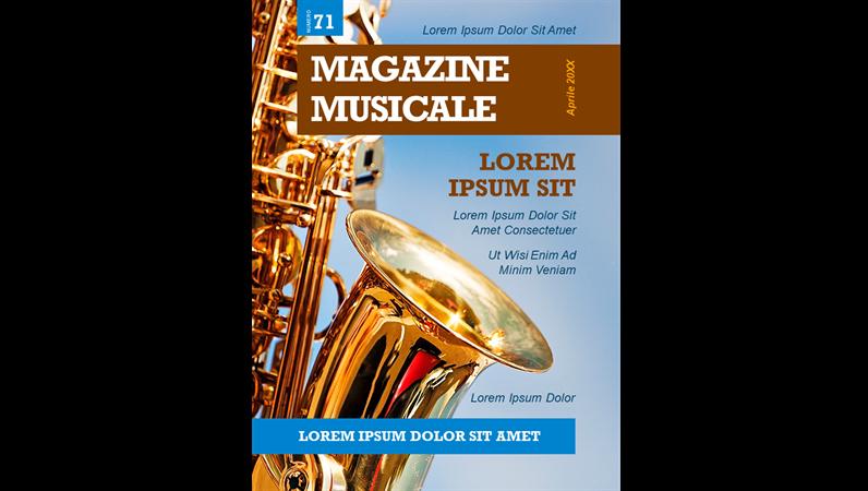 Copertine di riviste di musica