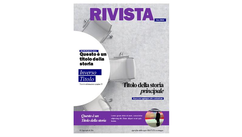 Copertine di riviste sulla collettività