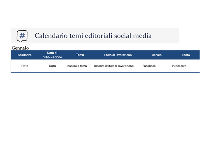 Calendario Semestrale 2020.Calendari Office Com