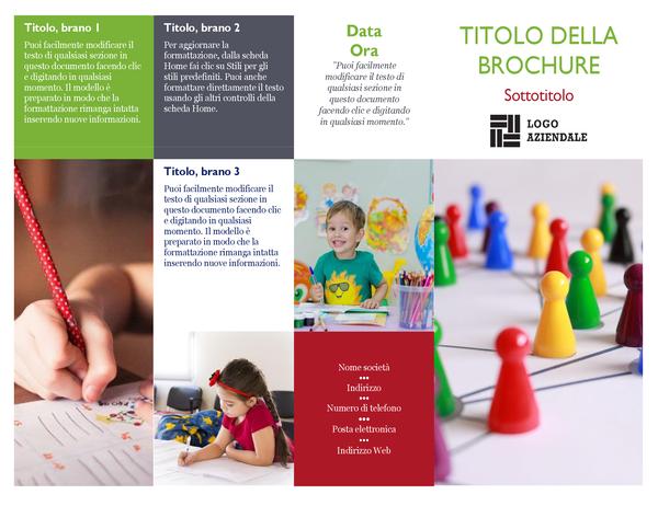 Brochure scolastica