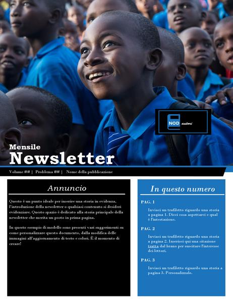 Newsletter no profit