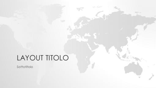 Serie Cartine del mondo, presentazione Planisfero (widescreen)