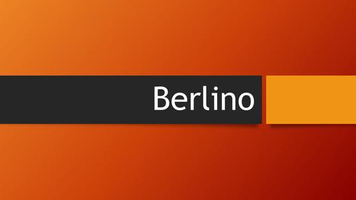 Berlino arancione