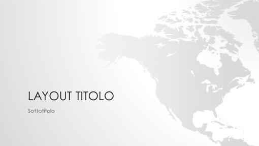 Serie Cartine del mondo, presentazione Nord America (widescreen)