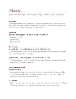 Curriculum (viola)