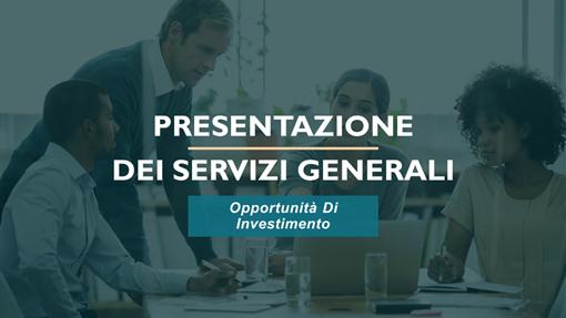 Presentazione dei servizi professionali