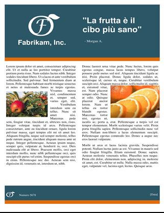 Newsletter settimanale