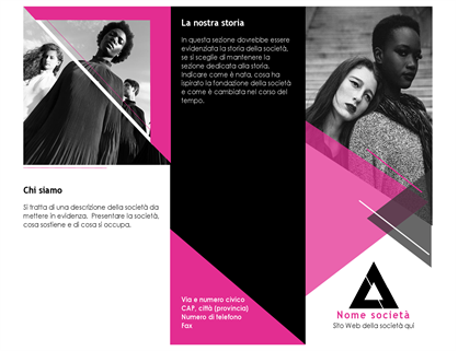 Brochure di moda