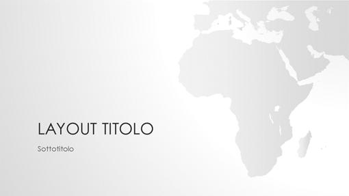 Serie Cartine del mondo, presentazione Africa (widescreen)