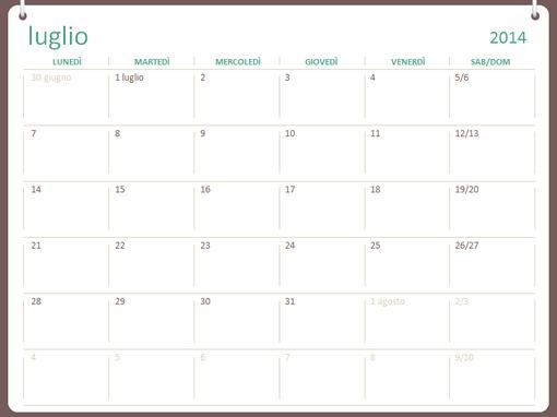 Calendario accademico 2014-2015 (luglio-giugno)