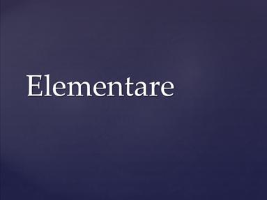 Elementare