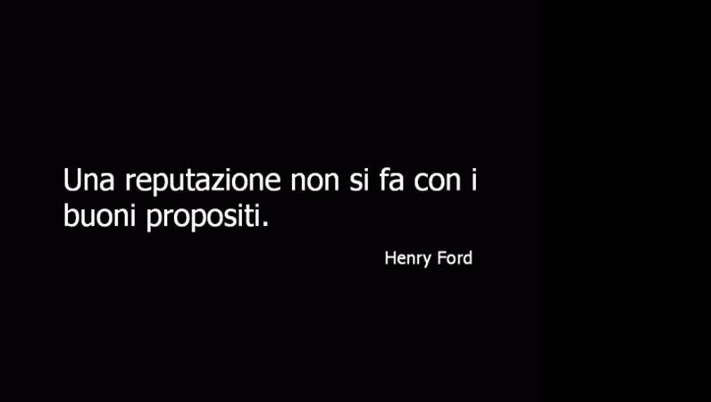 Diapositiva citazione Henry Ford