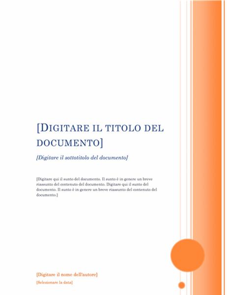 Report (tema Loggia)