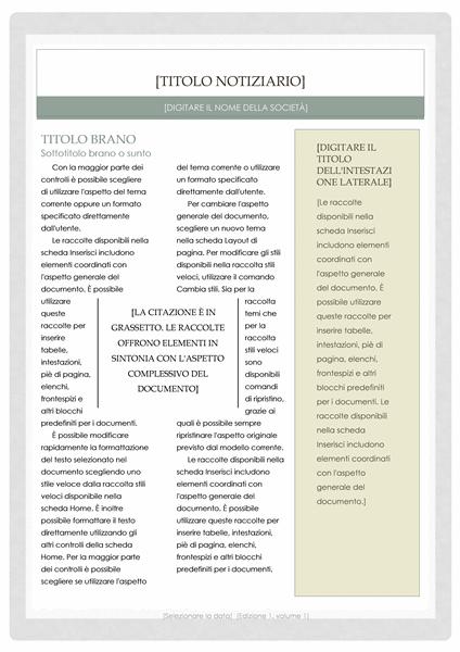 Notiziario (schema Farmacia)