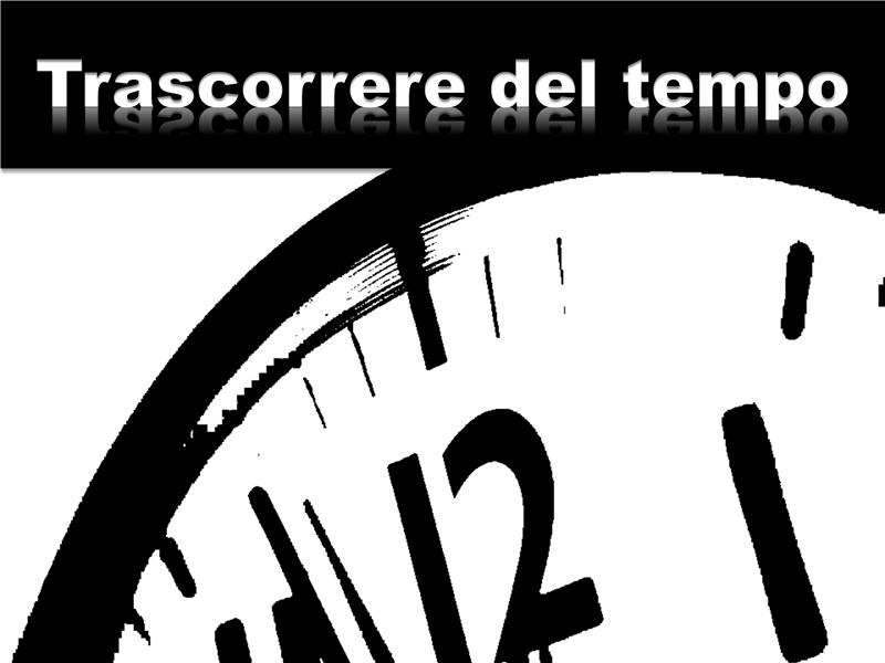 Trascorrere del tempo (con video)