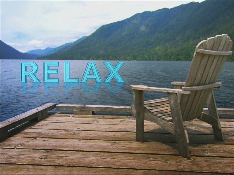 Relax al lago (con video)