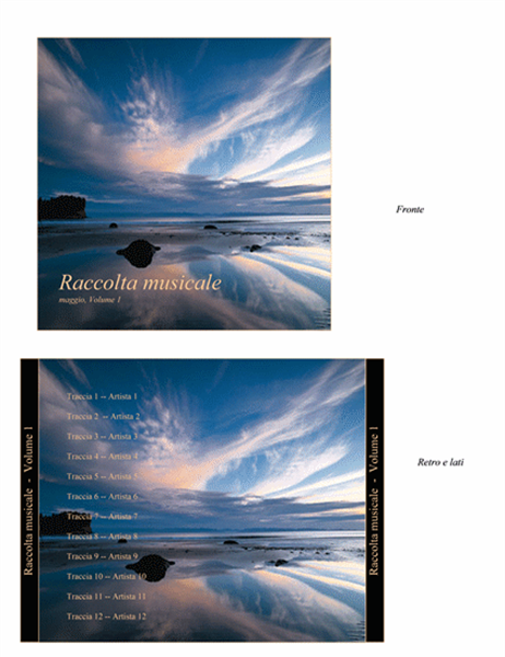 Copertina per CD Raccolta musicale