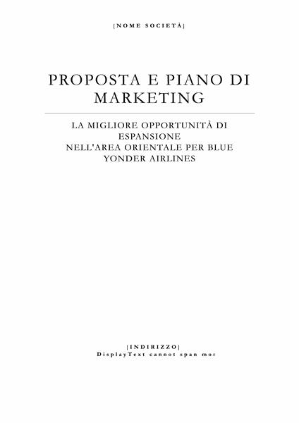 Report commerciale (tema elegante)