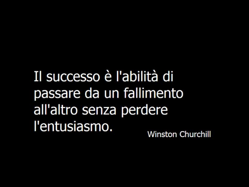 Diapositiva citazione Winston Churchill