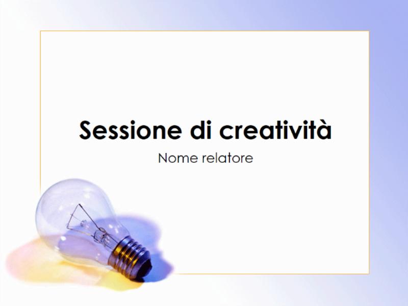 Presentazione sul brainstorming