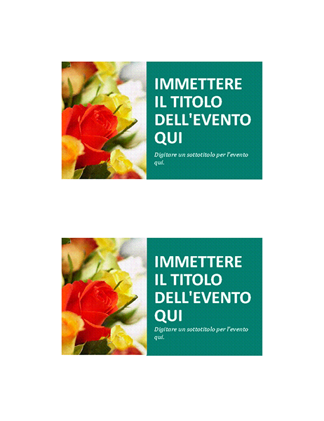 Cartolina evento