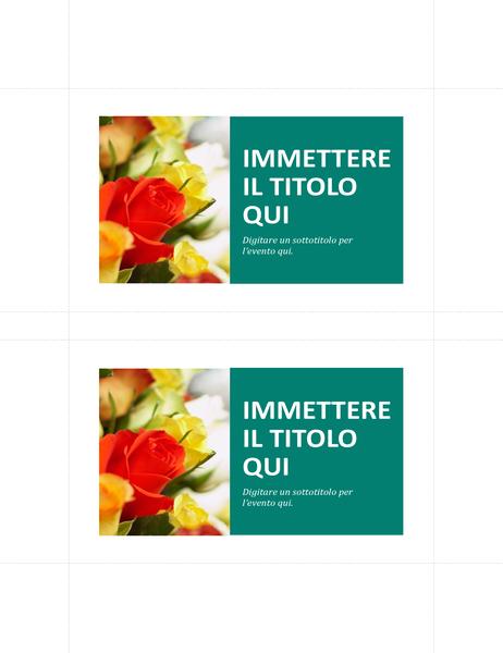 Cartoline promozionali (2 per pagina)