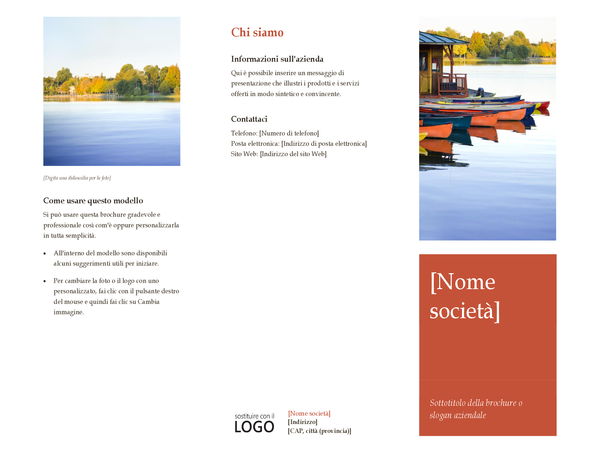 Brochure di business