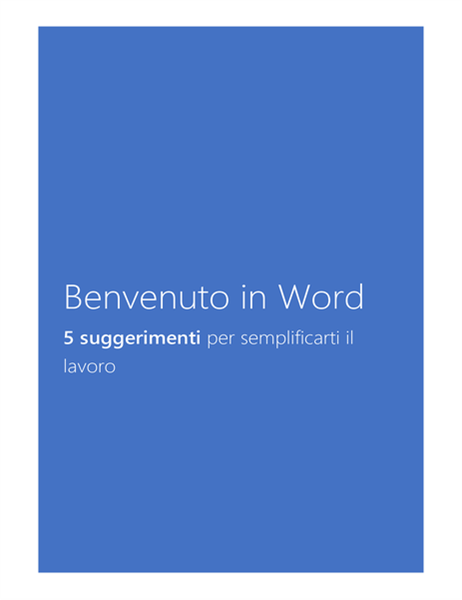 Introduzione a Word