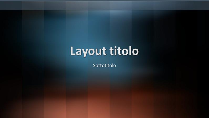 Diapositive schema lessico verticale