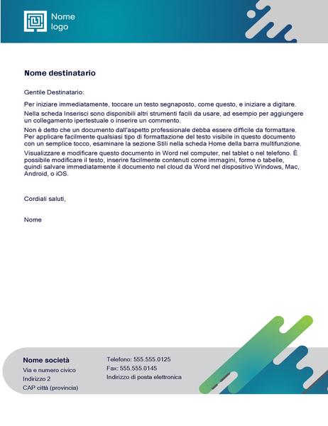 Carta intestata (design Capsule)