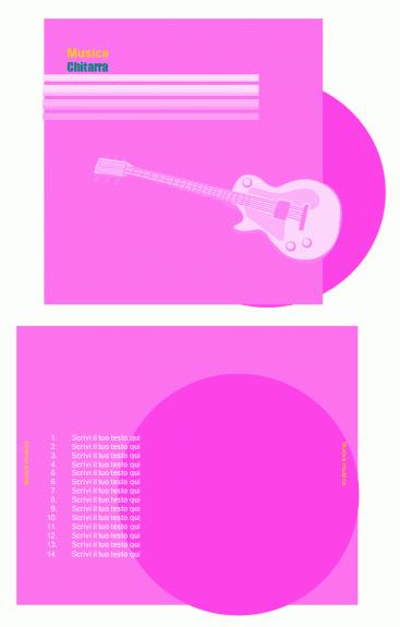 Copertine per CD (Fronte e retro)