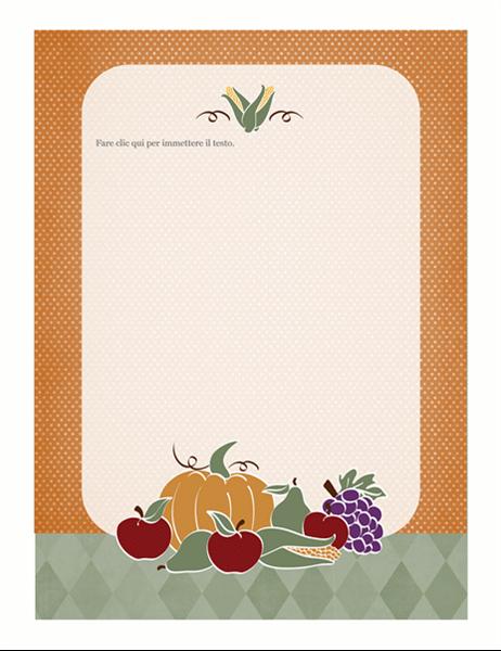 Elementi decorativi (schema Natura morta)