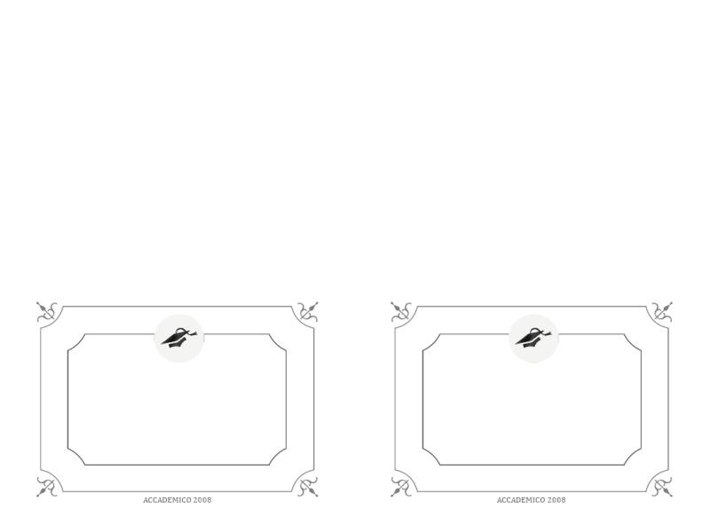 Biglietto di ringraziamento Laurea (struttura Formale, bianco e nero)
