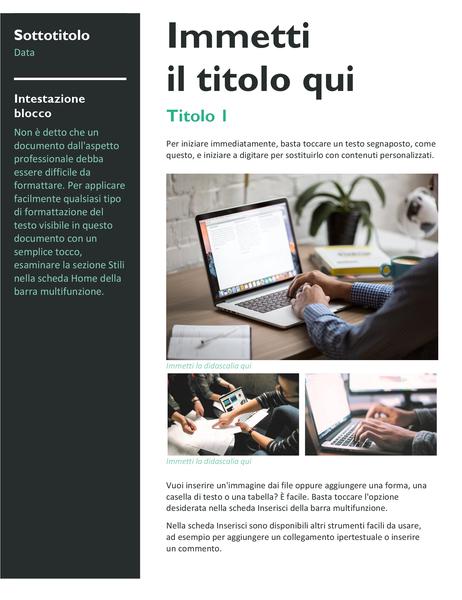 Newsletter (grassetto)