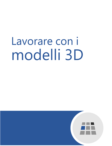 Come lavorare con i modelli 3D in Word