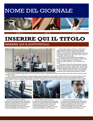Giornale lifestyle
