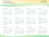 Calendari per piccole imprese (qualsiasi anno)