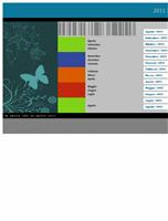 Calendario accademico 2011-2012 (lun-dom)