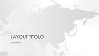 Serie Mappe del mondo, presentazione Asia (widescreen)