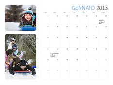Calendario con foto 2013 (Lun-Dom)