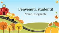 Presentazione per il rientro alla scuola elementare (widescreen)