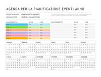 Pianificazione evento